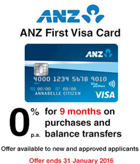 How To Apply Visa Gift Card To Amazon Account - anz first visa credit card exclusive offer finder com au