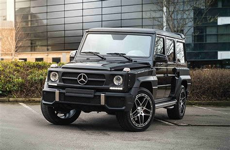 mercedes pickup 2017 now you can get your g class modded by kahn design
