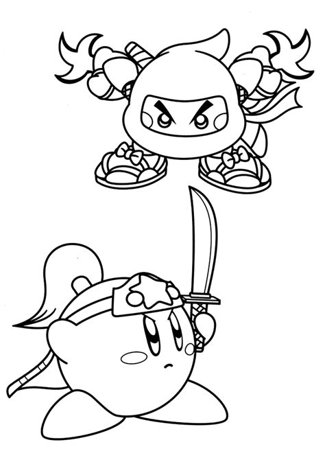 king dedede coloring page nintendo meta knight coloring pages