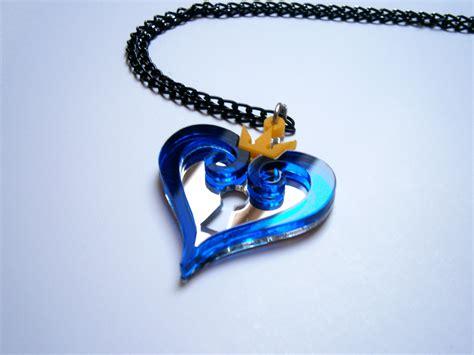 kh blue necklace sora kairi pendant