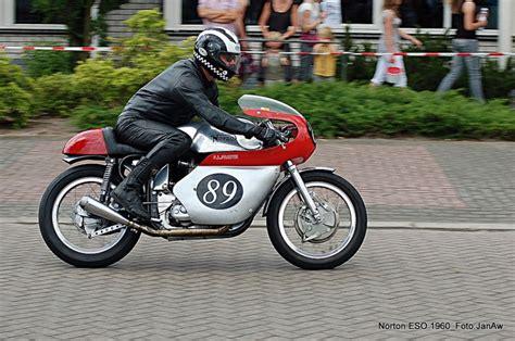 Classic Motorrad Nl by Adriaans Album Norton Eso 500cc 1960 M Van