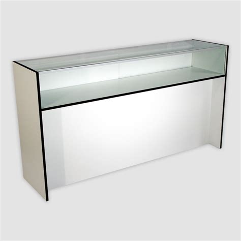 White Sliding Door Cabinet by Wood Jewelry Showcase Wood Jewelry Display Case