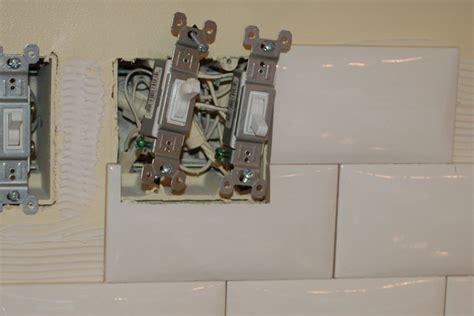 tile backsplash around outlets how to tile a backspash icreatables