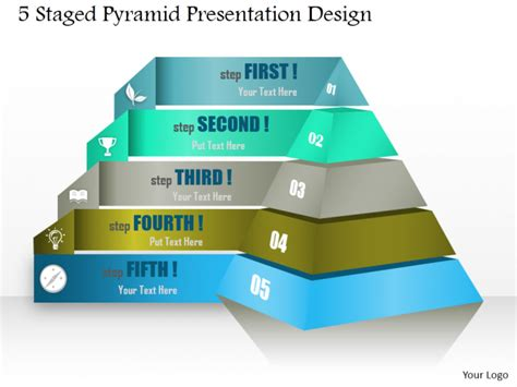 Powerpoint Tutorial 8 How To Create A Stunning 2d And 3d Pyramid Diagram For Your Presentation Pyramid Powerpoint Template