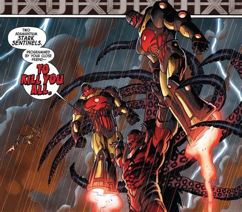 Tony Stark S House Sentinels Team Comic Vine