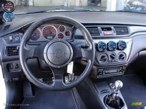 Mitsubishi Evo 9 Interior 2006 White Mitsubishi Lancer Evolution Ix Mr
