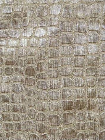 hooks pattern fabric hook bronze alligator skin pattern chenille jacquard for
