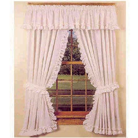 Cape Cod Kitchen Curtains Cape Cod Ruffle Country Style Curtains Ideas For The House Sale Country