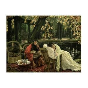 convalescent  painting  james tissot