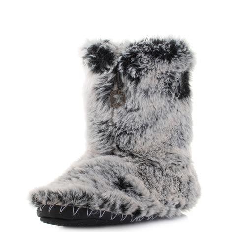 possum slippers womens bedroom athletics cole possum luxury faux fur