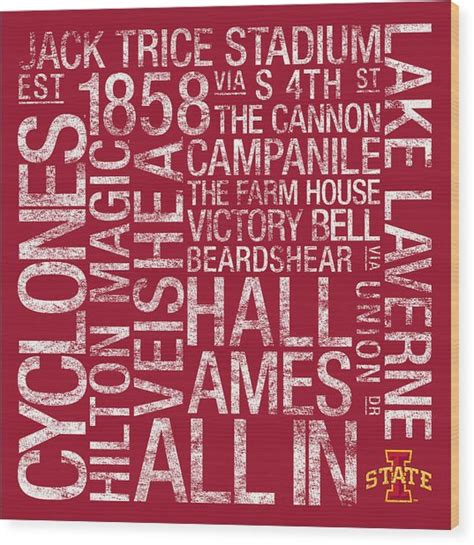 iowa state colors iowa state college colors subway photograph by replay