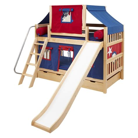 bunk bed tent only laugh boy twin over twin slat slide deluxe tent bunk bed