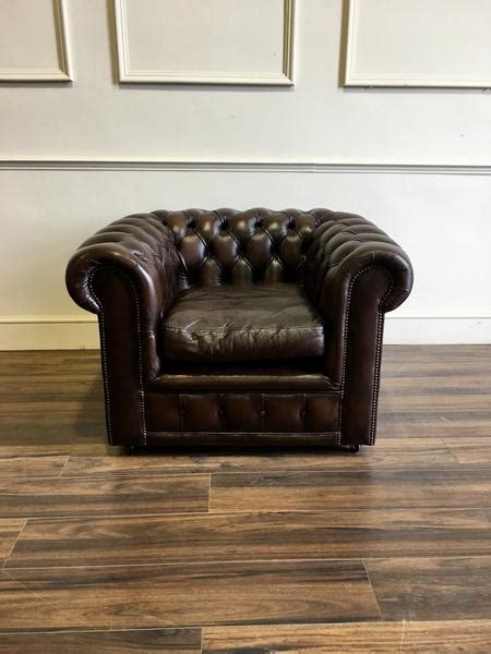 second hand chesterfield armchair second hand chesterfield sofas chairs at robinson of