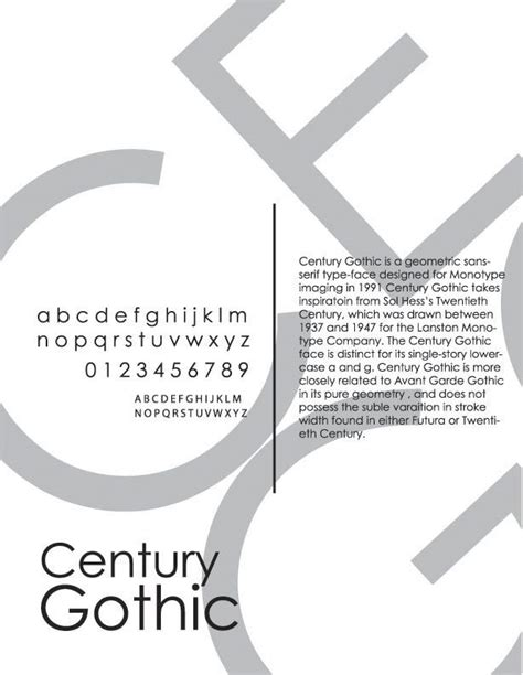 Cb Typografy century typeface poster typography