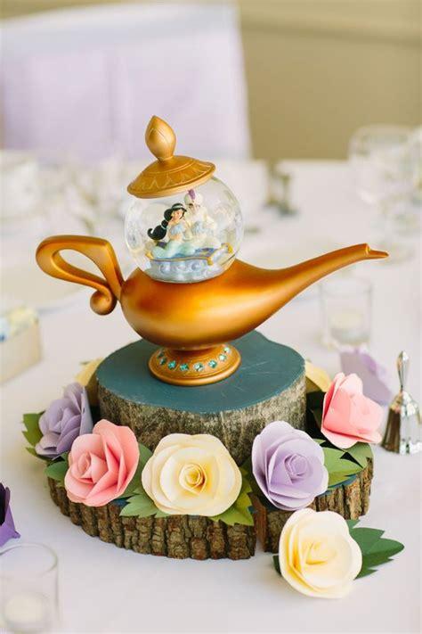 whimsical disney inspired wedding centerpieces weddceremony