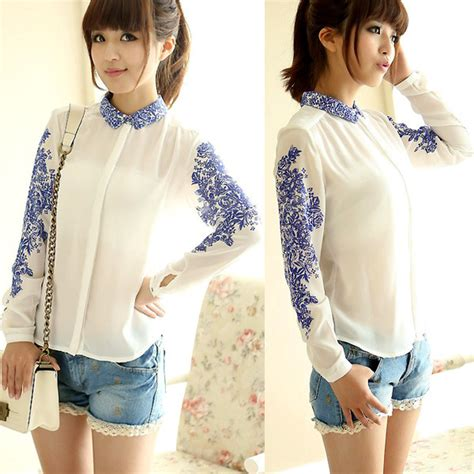 Baju Blouse Import Blouse White trendy blouses fall winter 2015 2016 ideas hq