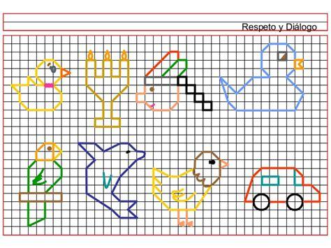 imagenes para dibujar en cuadricula dibujos en cuadriculas c02 1