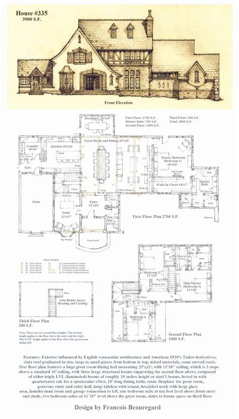 Tudor House Plan by Tudor House Plans Best Tudor Style House