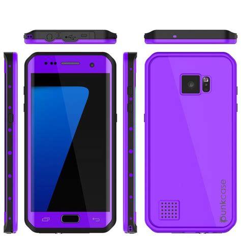 Hello Purple Series Samsung Galaxy S6 Edge galaxy s7 edge waterproof punkcase studstar purple thin 6 6ft underwater