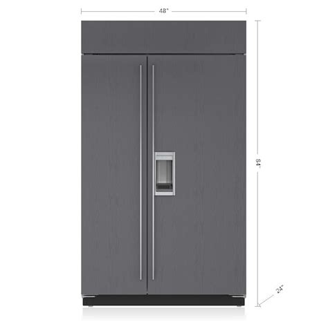 sub zero side by side 5697 78 ideas about refrigerator freezer on