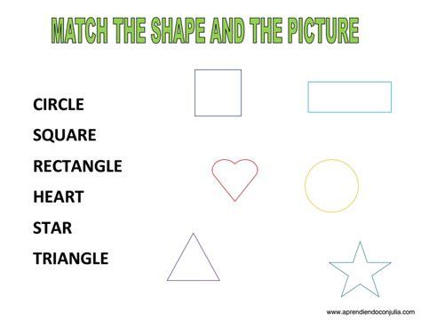 figuras geometricas ingles ficha para aprender las formas geom 233 tricas en ingl 233 s shapes