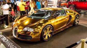 All Gold Bugatti Bugatti Veyron Gold Chrome Image 394