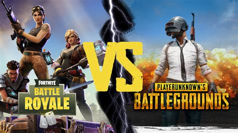 fortnite vs pubg pubg vs fortnite battle royale shiftdelete net
