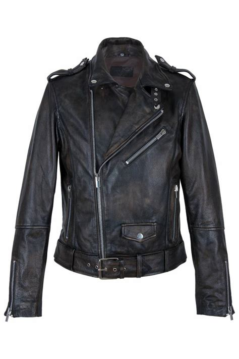 porsche design leren jas heren leren biker jas bruin leather city online