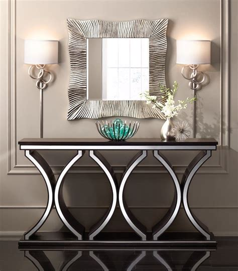 unique modern sofa tv console table accent table brown