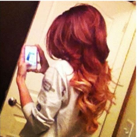 red and blonde ombre pictures red and blonde ombre i hope my hair comes out as good as