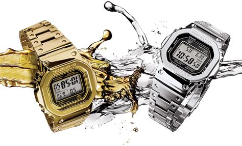 G Shock Ferrian Series casio g shock gmw b 5000 d 1 brings metal to the 5000 series ablogtowatch