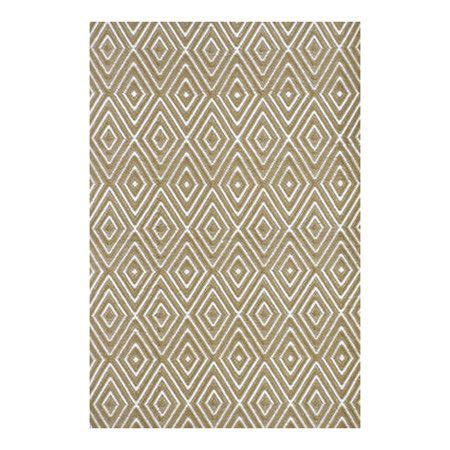 Indoor Outdoor Woven Rug With A Diamond Design Product Outdoor Rug Material