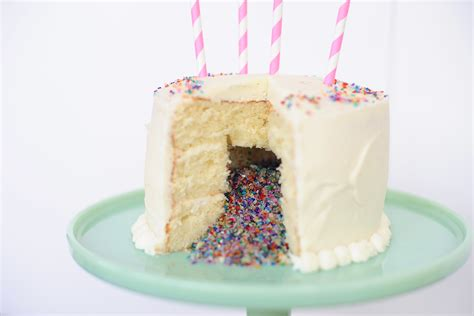 pink peppermint confetti cake diy make this amazing dessert and surprise