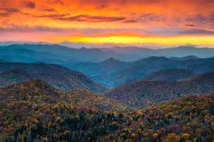 the colors of the mountain blue ridge parkway landscape photography asheville nc