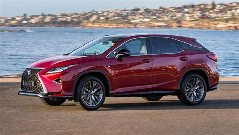 red lexus truck lexus adds f sport and sports luxury rx 200t variants amid