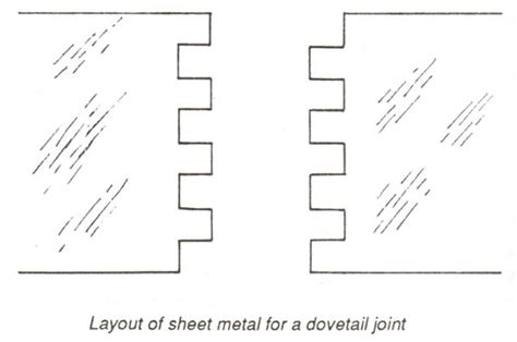 dovetail layout video principles and techniques in joining metals all about