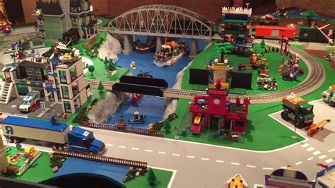 youtube lego layout lego city lionel train layout update 5 youtube