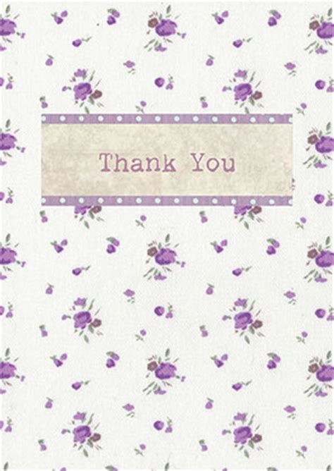 purple thank you card templates thank you cards adela rosa