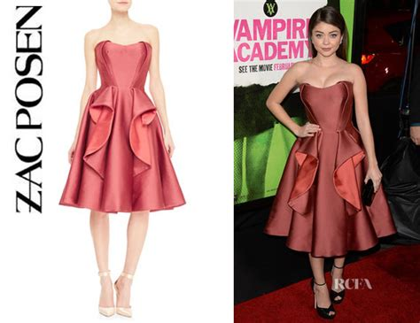Who Wore Zac Posen Better Natalie Cole Or Dion by Hyland S Zac Posen Strapless Ruffle Cocktail Dress
