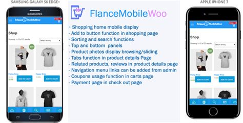 mobile themes dow free nulled flancemobilewoo woocommerce mobile theme