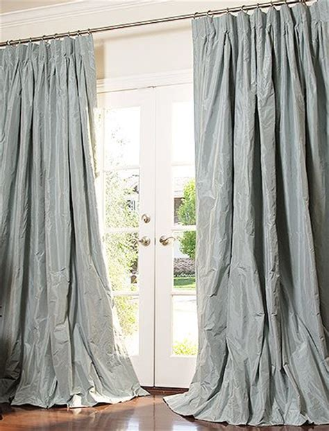 heavy silk curtains silk taffeta silk and silk drapes on pinterest