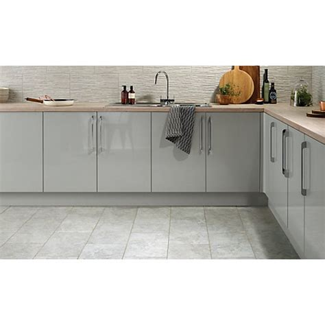 gray kitchen floor tile wickes mayfield grey ceramic tile 500 x 300mm wickes co uk