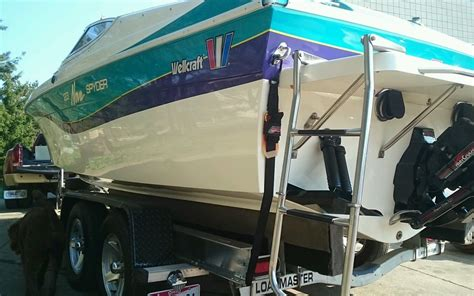 wellcraft boat rub rail wellcraft 23 nova 1994 for sale for 500 boats from usa