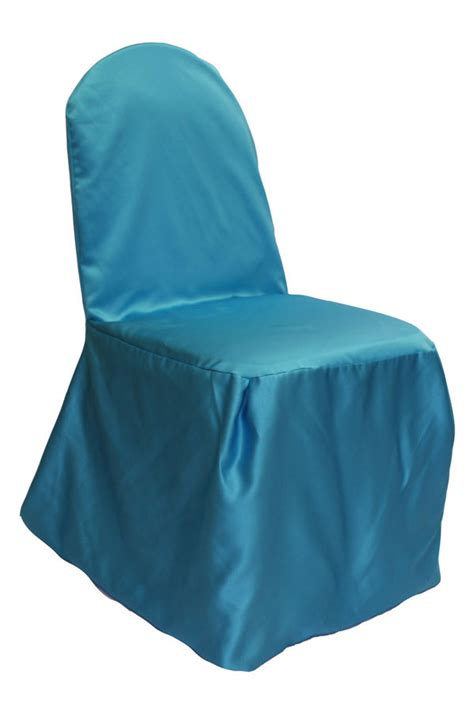 turquoise banquet chair covers turquoise lamour chair cover