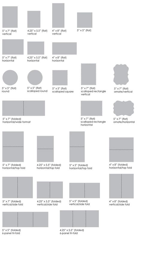 card sizes card layout options muddy paws graphics