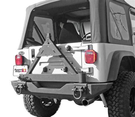 rugged ridge xhd rear bumper rugged ridge rear xhd bumper
