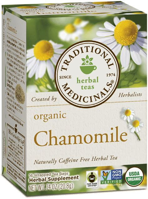 Chamomile Tea During Detox by Chamomile Traditional Medicinals