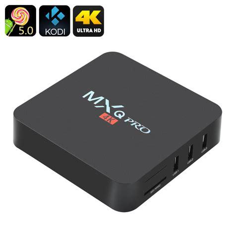Tv Box wholesale mxq pro 4k ultra hd tv box from china