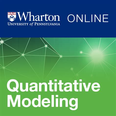 Wharton Mba Mooc Coursera by Fundamentals Of Quantitative Modeling Of