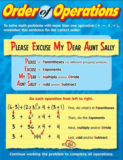 excuse my dear sally worksheets simplify evaluate ochs algebra website